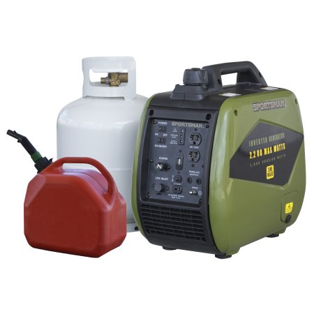 2200 Watt Dual Fuel Inverter Generator for Sensitive Electronics