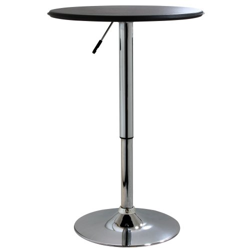AmeriHome Adjustable Height Bar Table