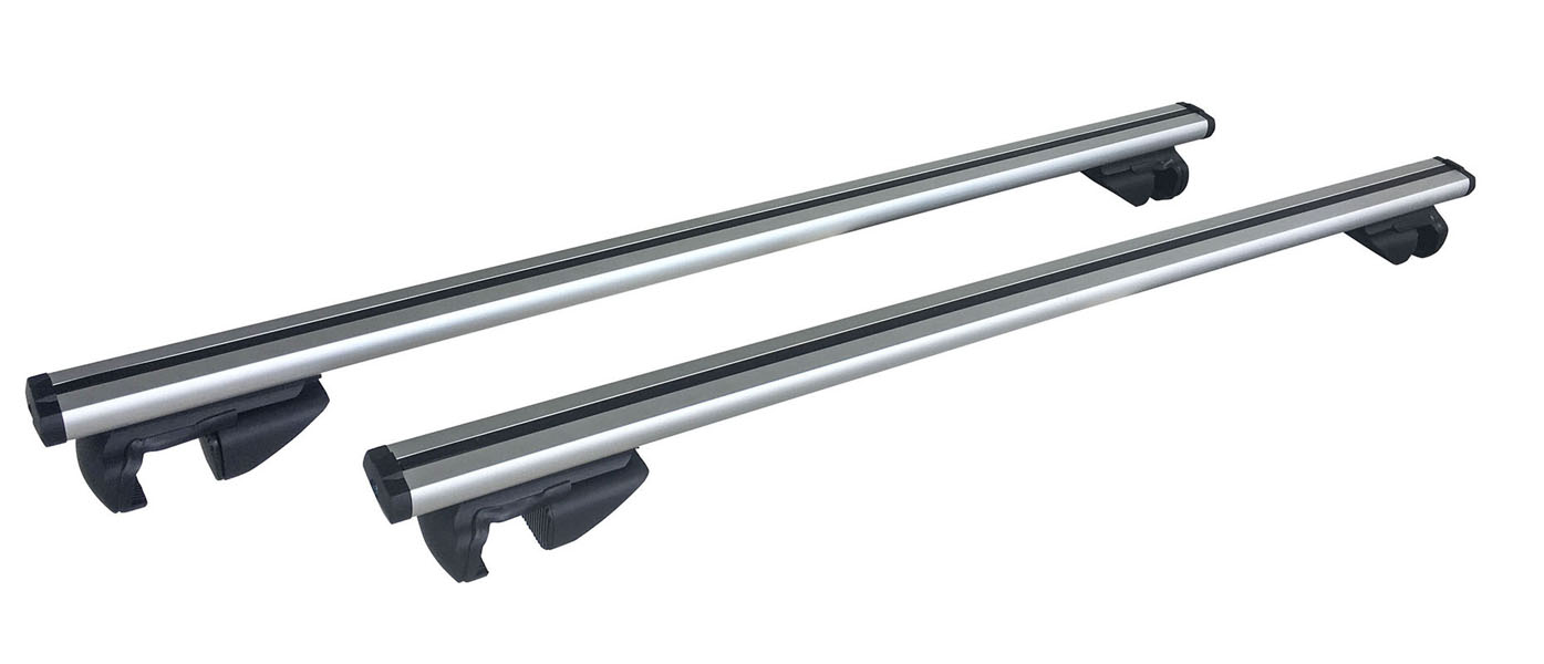 53 in. Universal Aluminum Roof Bars For Full Size SUVs, Set of 2