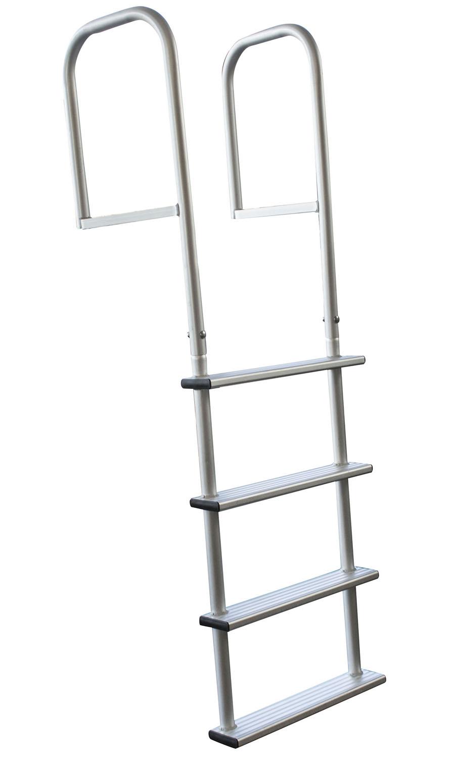 4 Step Removable Aluminum Dock Ladder