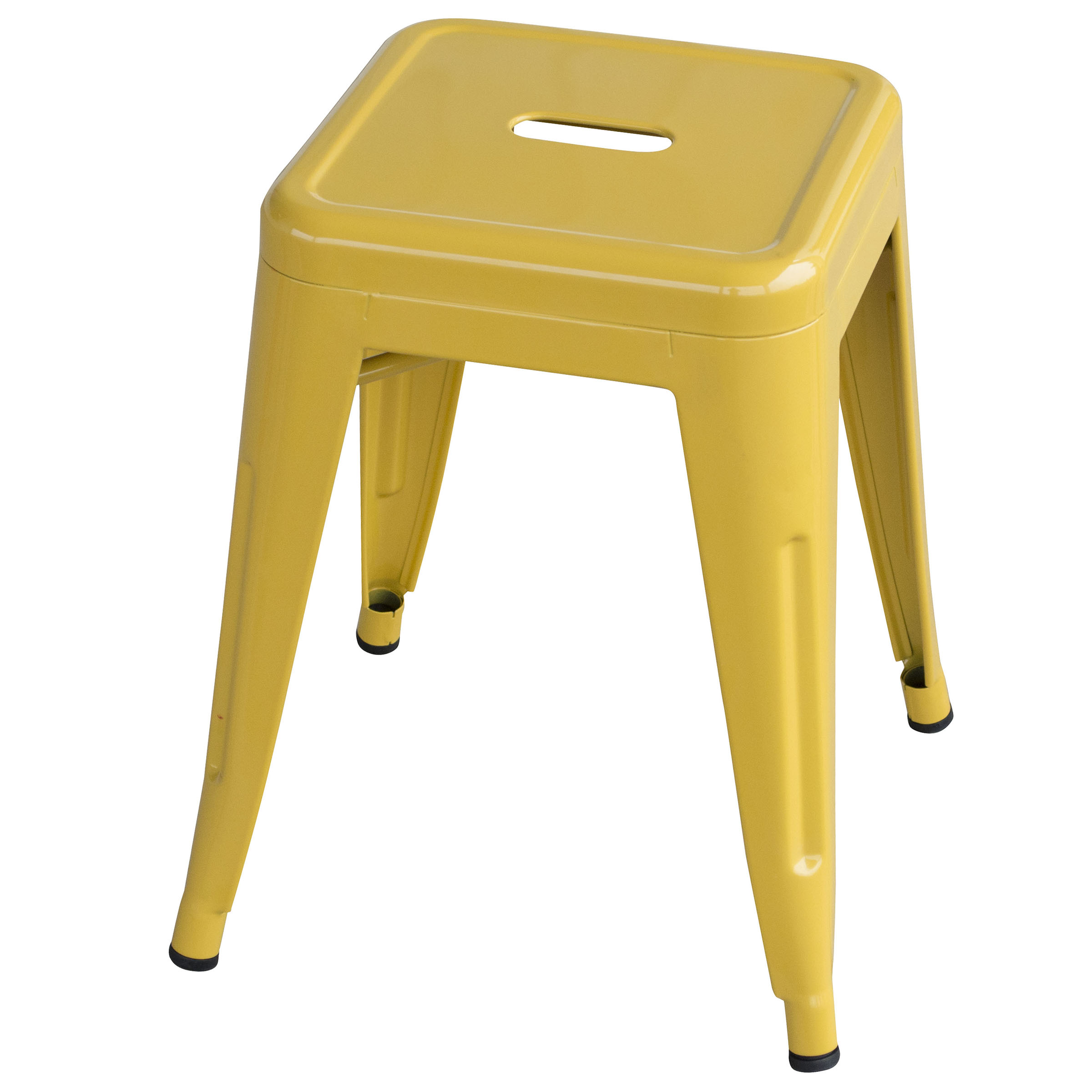 Loft Gold 18 Inch Metal Bar Stool