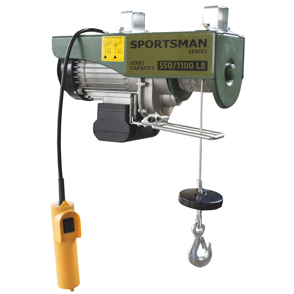 Sportsman Series Electric Game Hoist wth 1/2 Ton Capacity