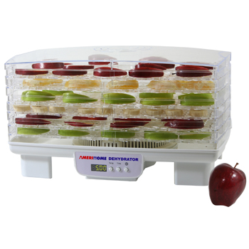 AmeriHome 6-Tray Electric Food Dehydrator