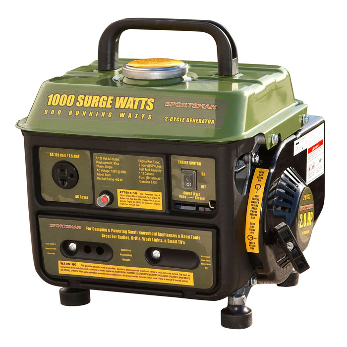 Sportsman Series 1000 Surge Watt Portable Generator