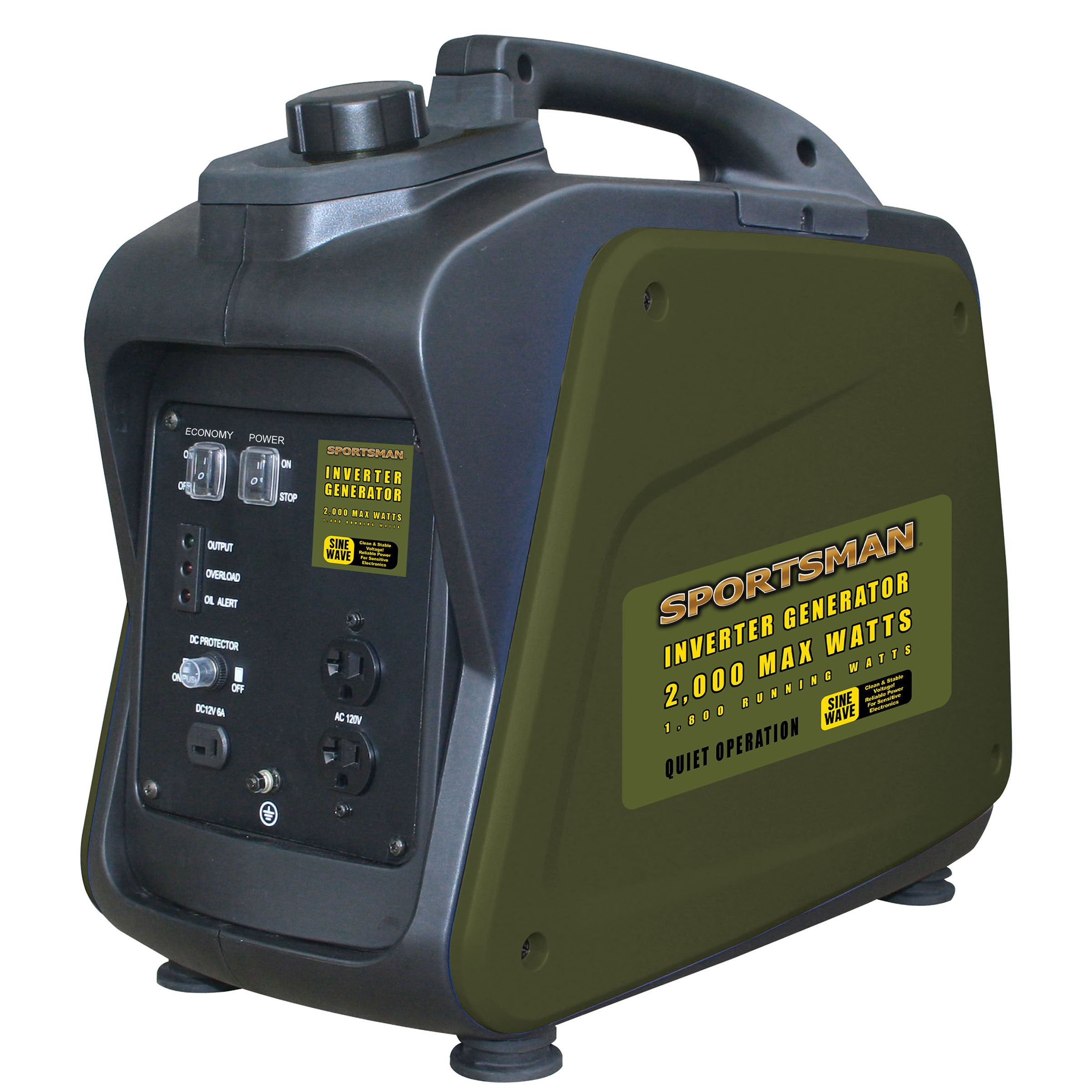 2000 Watt Inverter Generator for Sensitive Electronics