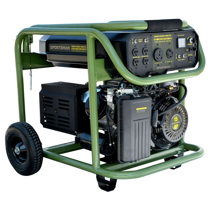 Tri Fuel 9000 Watt Generator