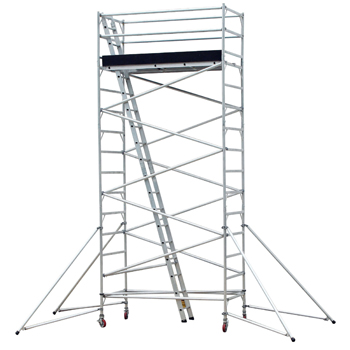 Pro-Series 20 Ft. Mobile Aluminum Scaffold Tower