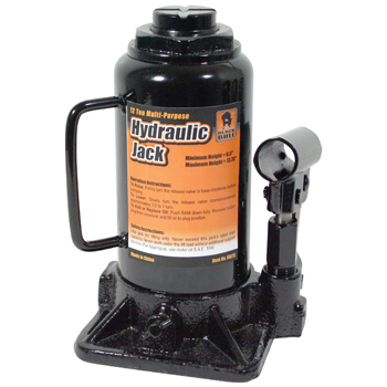 Black Bull 12 Ton Hydraulic Bottle Jack