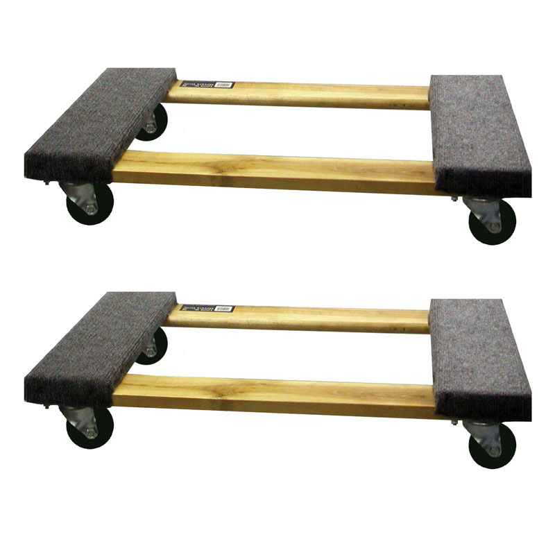Buffalo Tools 2 Piece 1000 Lb Furniture Dolly Set
