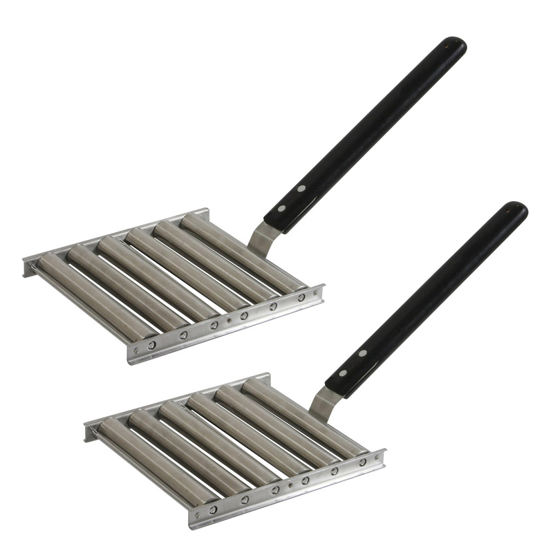 AmeriHome Grill Top Hot Dog Roller - 2 Piece Set