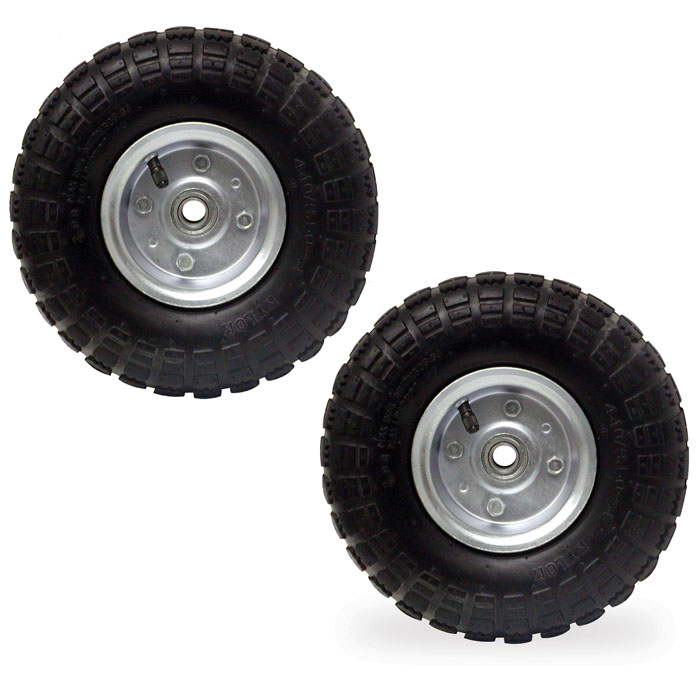 Buffalo Tools 10 in. Pneumatic Tire - 2 Piece Set