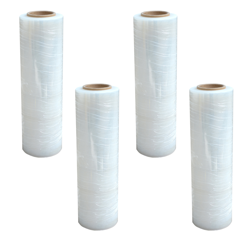 Pro-Series 4 Piece Stretch Wrap Roll v 18 in. x 1500 ft.