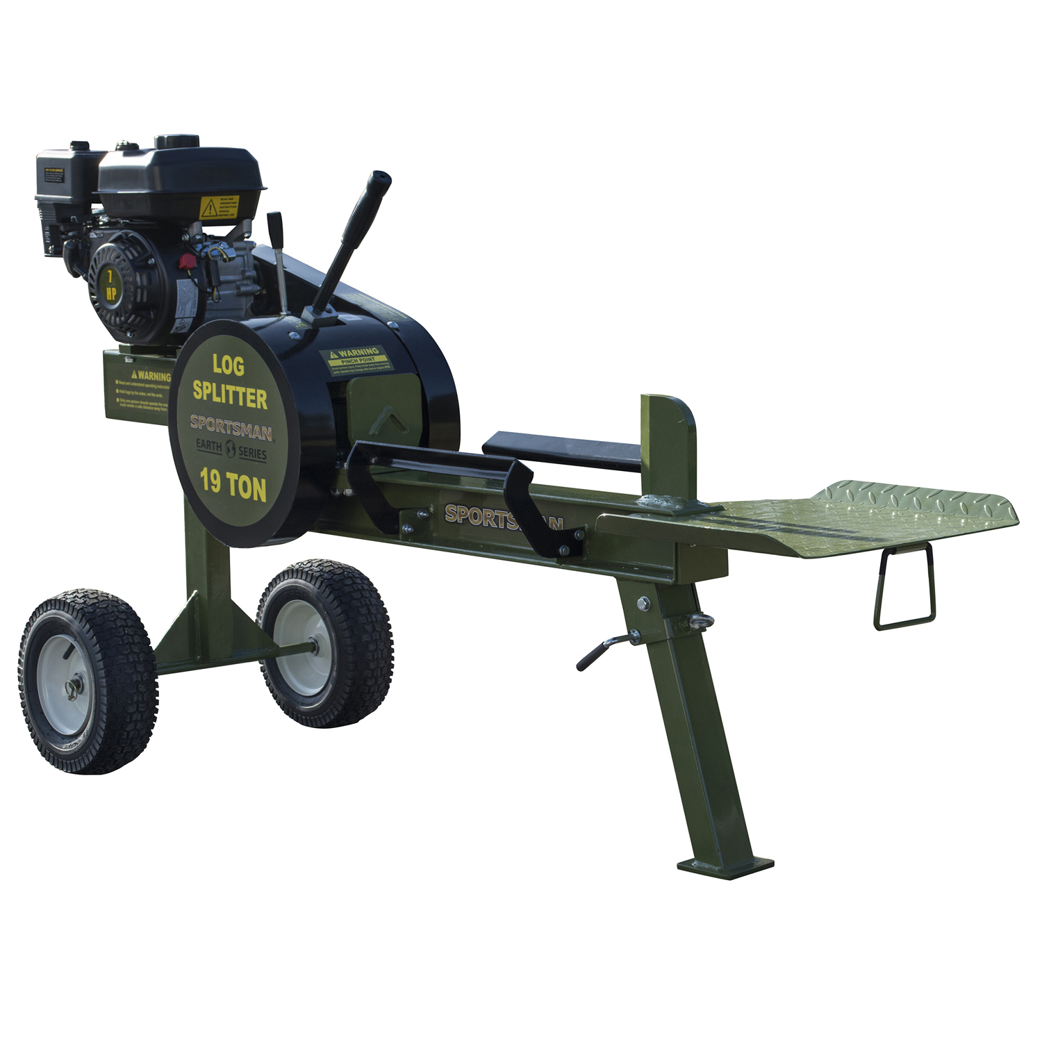 19 Ton Gas Powered Kinetic Log Spitter