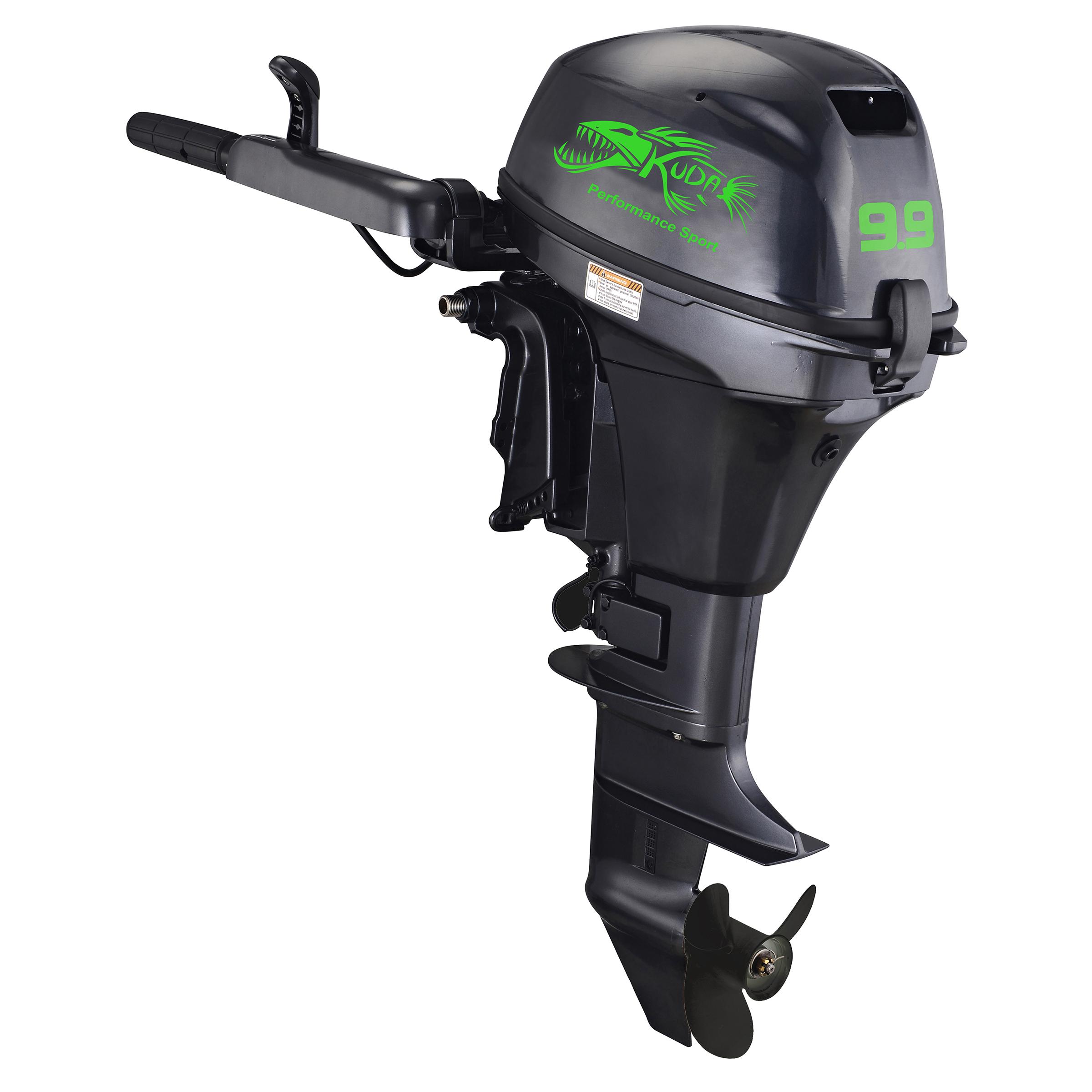 4 Stroke 9.9 HP Outboard Motor 5000 RPM