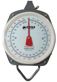 Buffalo Outdoor 550 Pound Capacity Hanging Scale