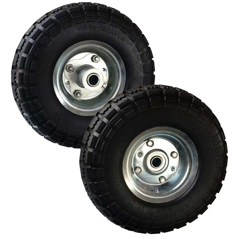 Buffalo Tools 10 Inch No Flat Tires - Set of 2