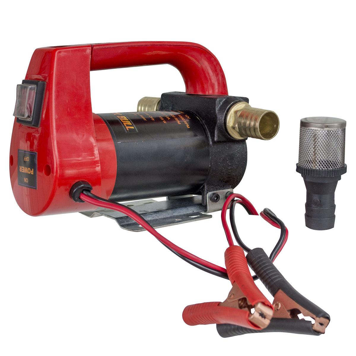 10 GPH High Flow Rate 12 Volt Portable 155 Watts Diesel Oil Pump