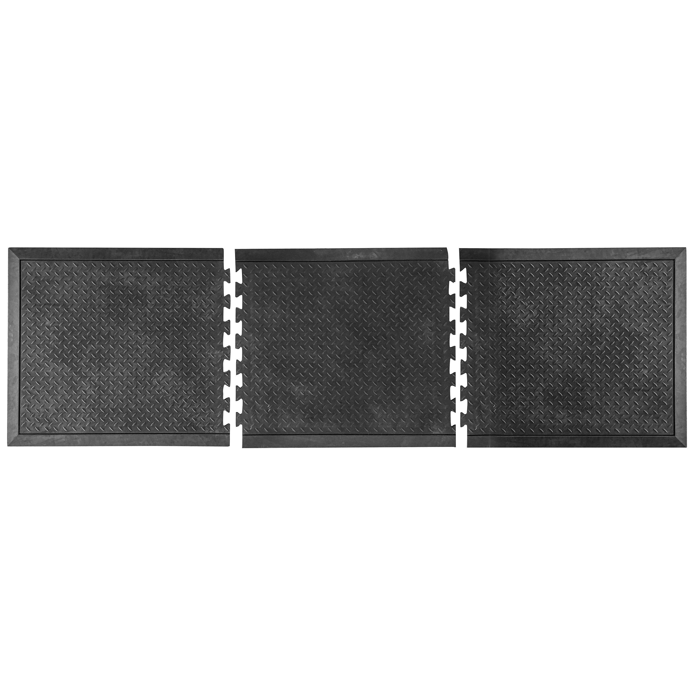 Anti Fatique Rubber Mat - 3 Piece Set