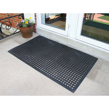 Buffalo Tools 3 x 5 Foot Industrial Rubber Floor Mat