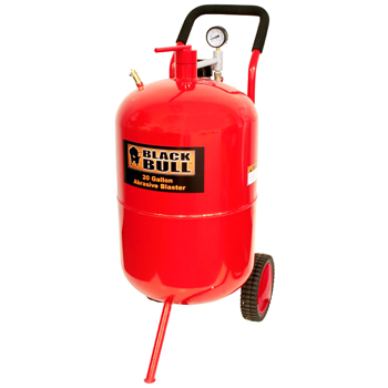 Black Bull 20 Gallon Abrasive Blaster