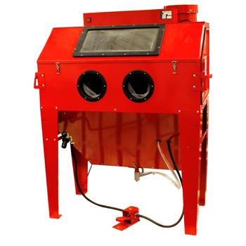 Black Bull 110 Gallon Capacity Industrial Sandblast Cabinet