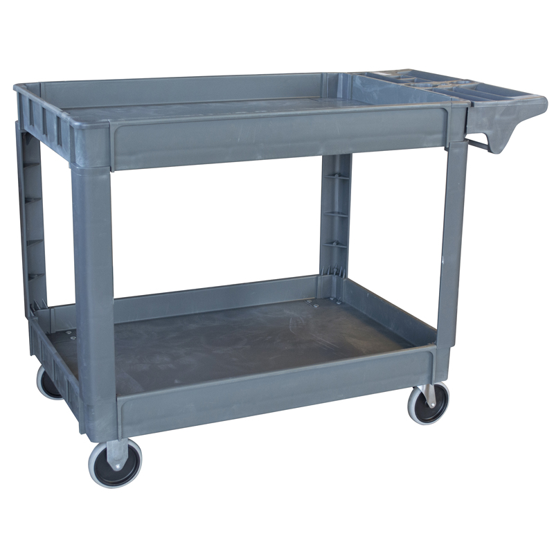 Pro-Series XL Two-Shelf Heavy Duty Utility Cart, 550 Lbs. Capacity