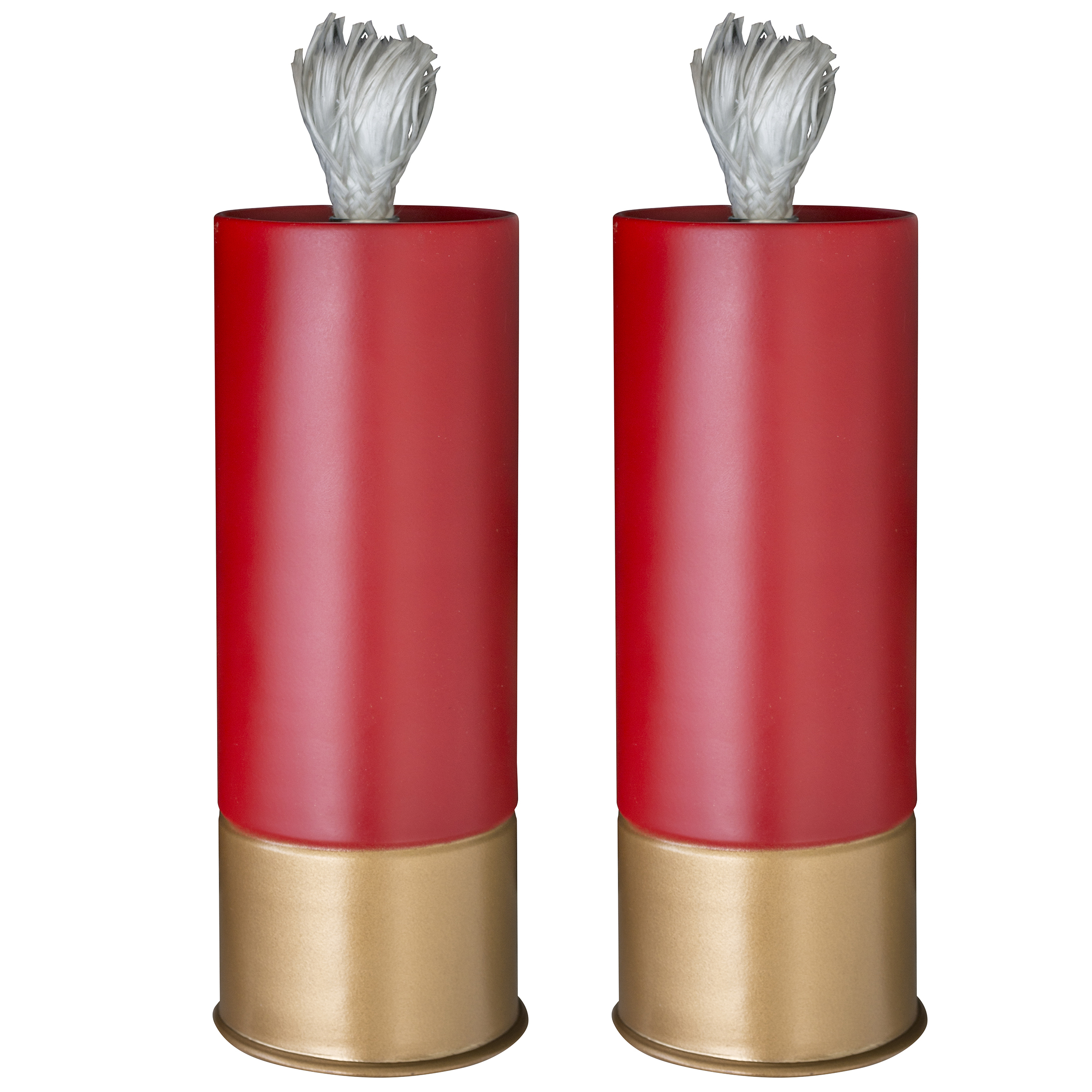 Shotgun Shell Patio Torch - 2 Piece Set