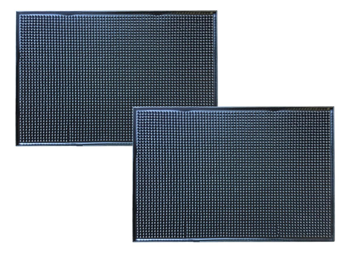 AmeriHome Rubber Service Spill Mat 2 Pack