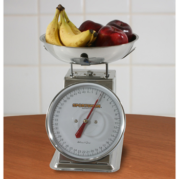 Sportsman Series 44 Lb Stainless Steel Dial Scale