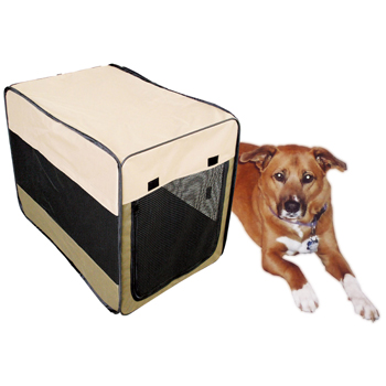 Sportsman Series Portable Pet Kennel For Medium Size Dogs
