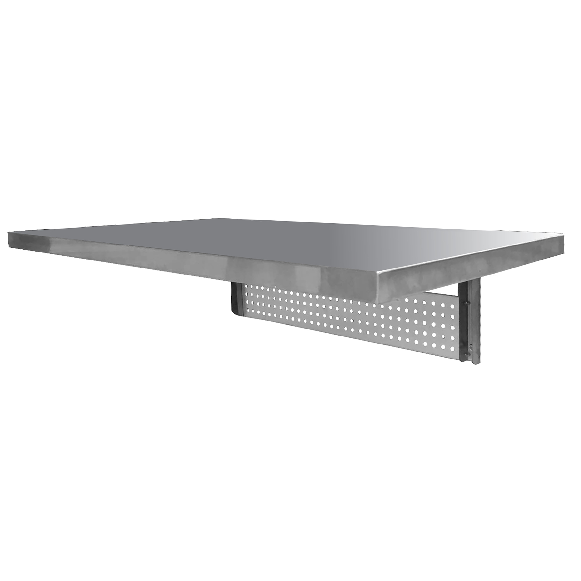 Space Saving Stainless Steel Wall Mount Work Table