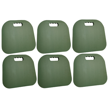 Buffalo Outdoor 6 Piece Seat Cushion Set - Green