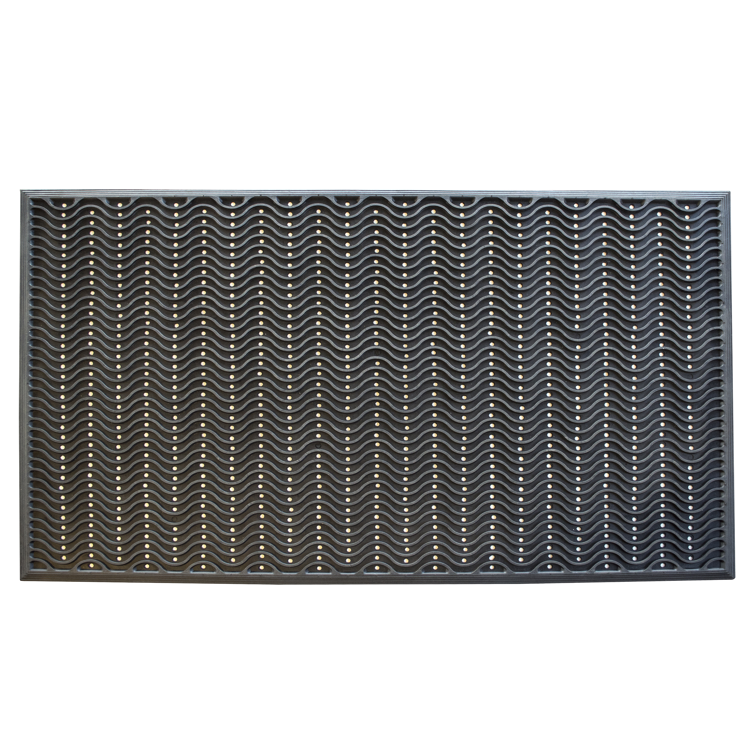 3 x 5 Foot Commercial Rubber Scraper Mat