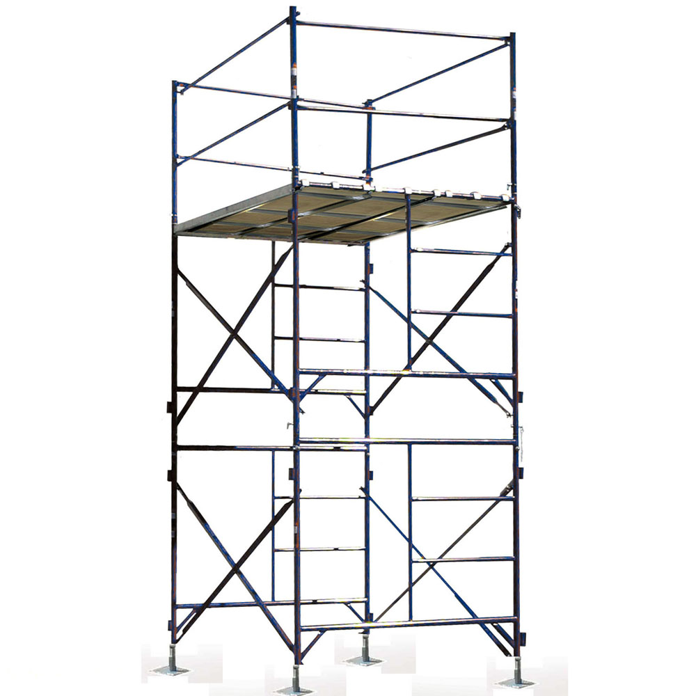 Two Story Stationary Scaffold Tower