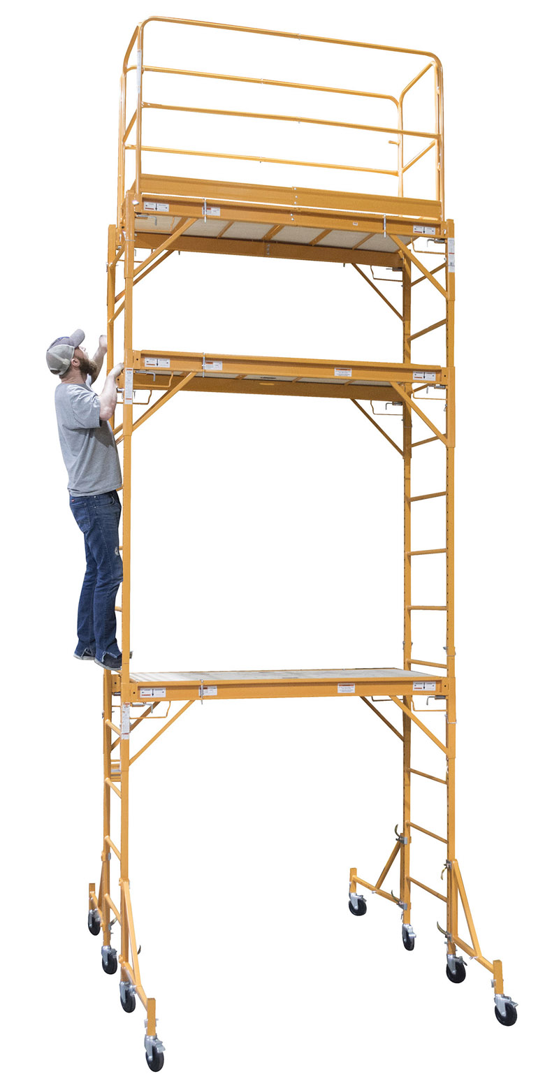 2.5 Level Rolling Interior Scaffold Tower