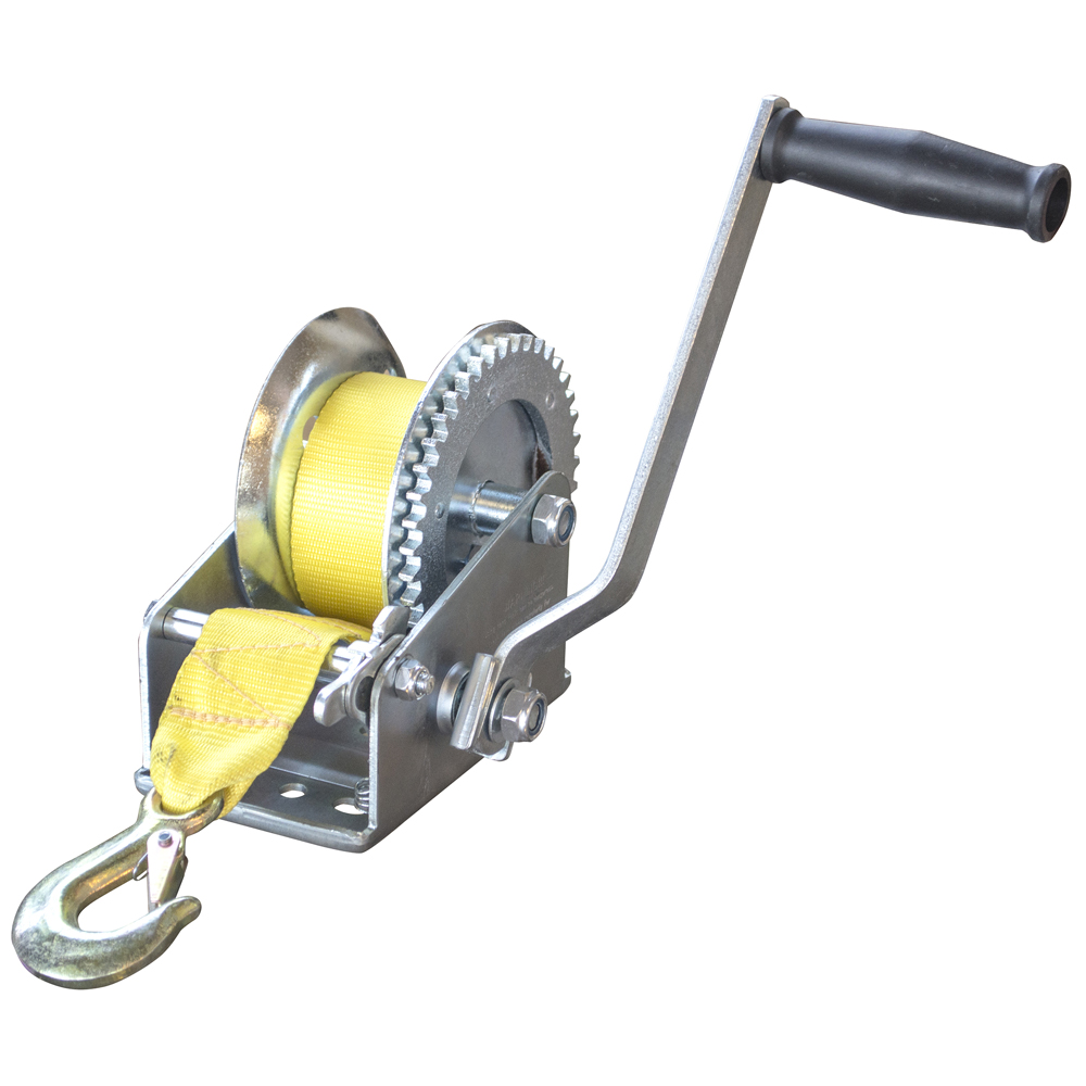 Sportsman Series 2500 Lbs Hand Winch with Hook