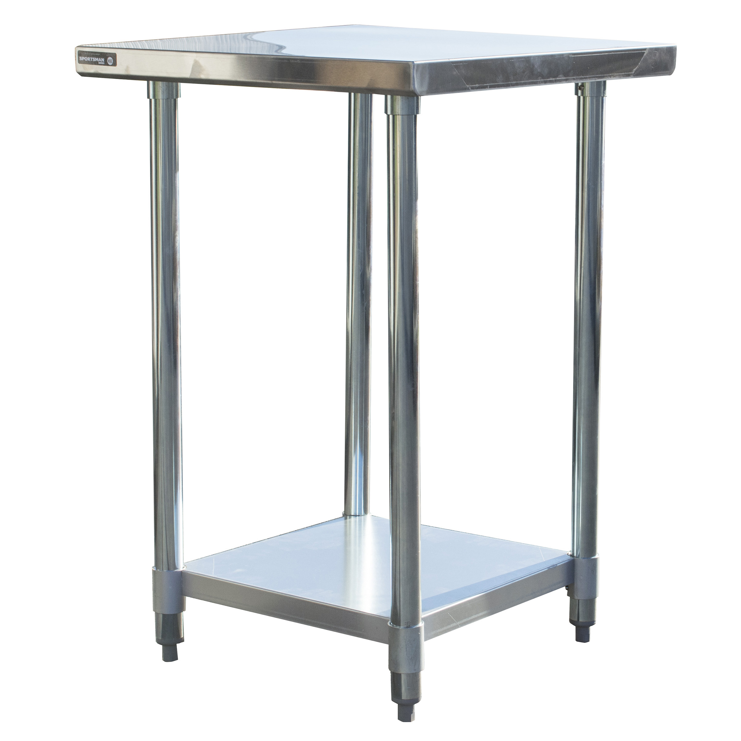 Sportsman Series Stainless Steel Work Table 24 x 24 Inches