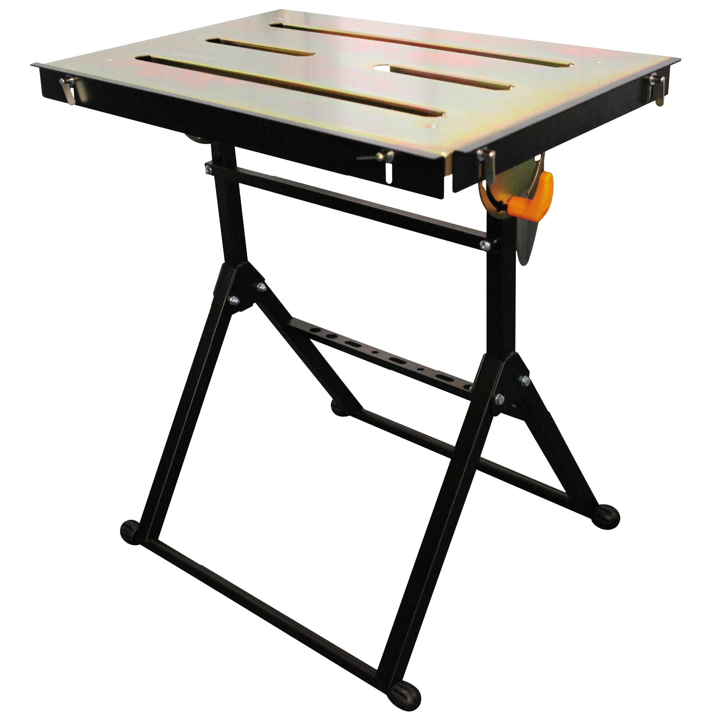HIT Adjustable Flameproof Steel Welding Table