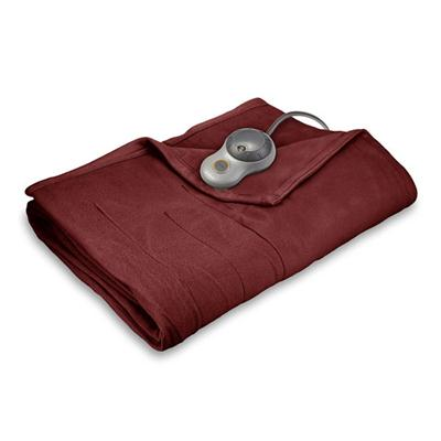 Quiltd Flc Heated Blanket Twin Garn