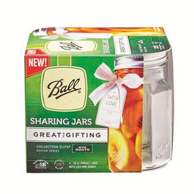 Ball QRT Sharing Jars32oz 16pk
