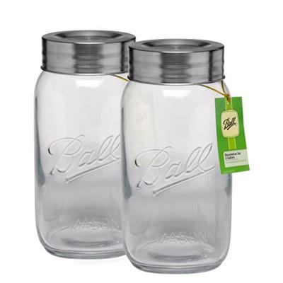 Ball Super WM Jar128oz 2pk