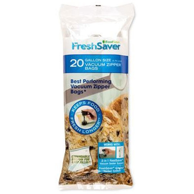FS Gallon Zipper Bags 20count