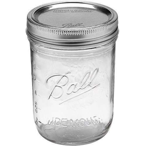 Ball 12ct Pint Wide mouth jars