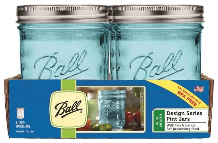 Ball 16ct Aqua Vintage 16oz RM