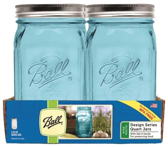 Ball 8ct Aqua Vintage Qt RM Ja