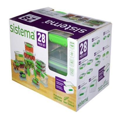 Sistema Fresh Green Set 28pc
