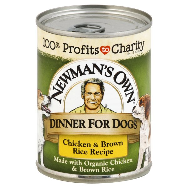 Newmans Own Chicken & Rice Dog Food Can (12x12.7 Oz)
