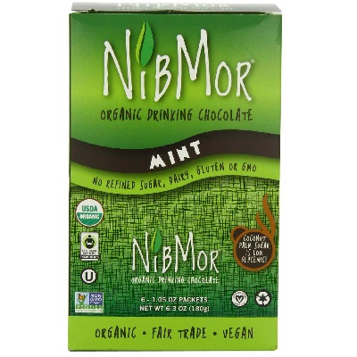 Nibmor Mint Drink Chocolate (6x1.05OZ )