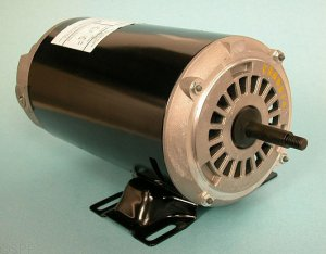 Motor, Emerson, Thru-Bolt, 48-Frame, 1-Speed, 1.5HP, 115/230V, 7.7/15.4 Amp