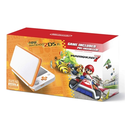 New Nintendo2DS XL OrgWhtMK7